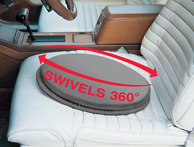 Swivel Seat Cushion grey